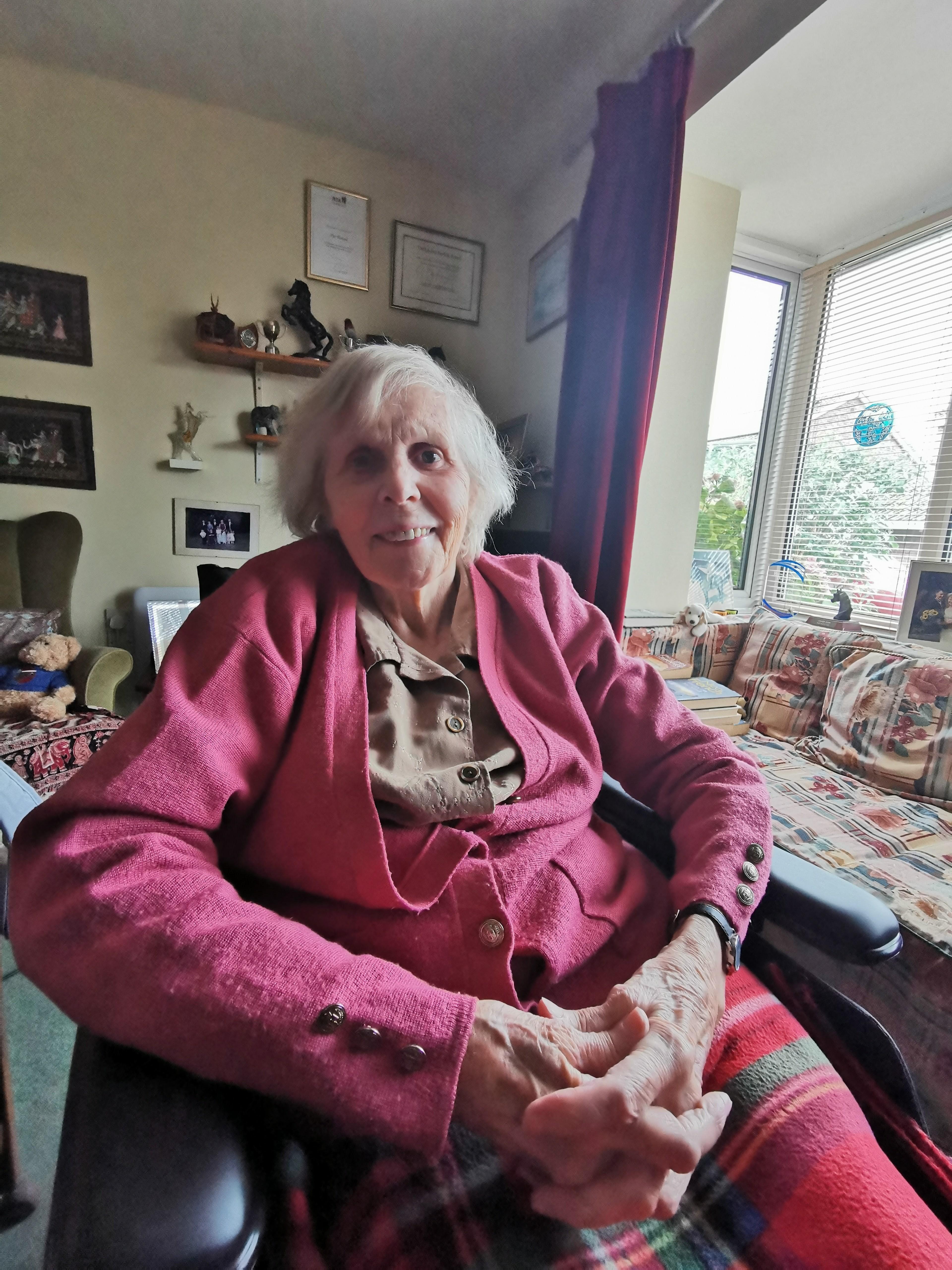 Photo of the story teller