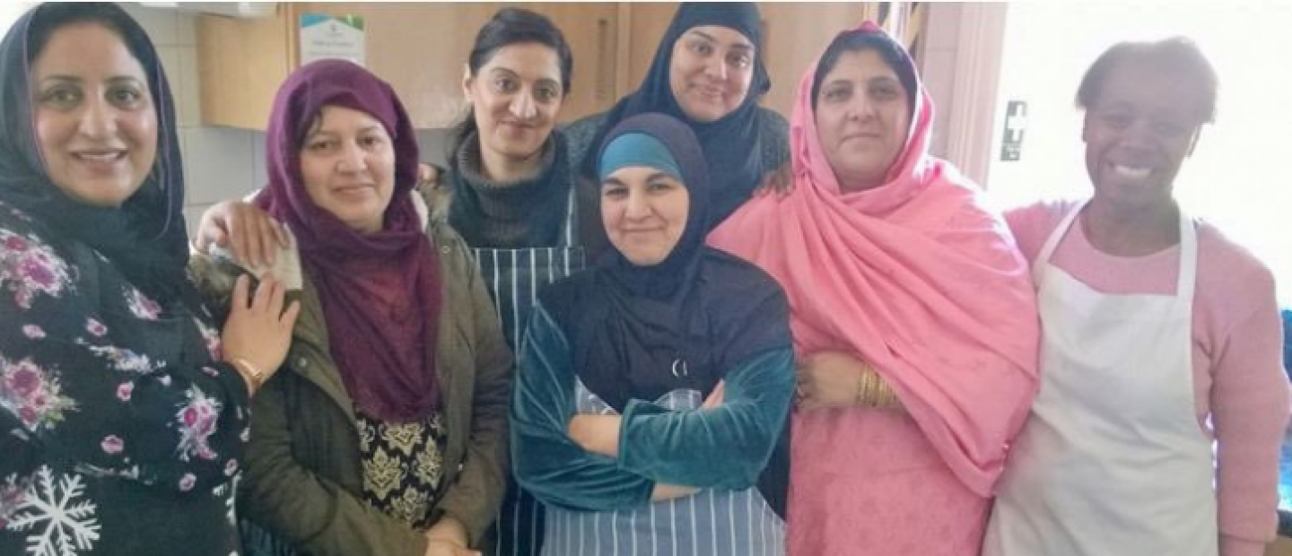 Ladies from the Park Ward Community Cooking Group